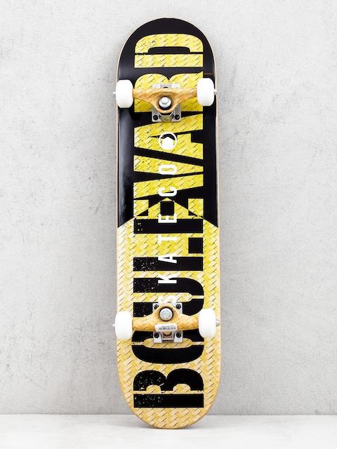 Skateboard Boulevard Skate Co (yellow/black)