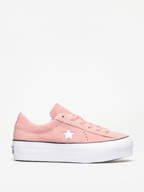 Tenisky Converse One Star Platform Ox Wmn (bleached coral/black/white)