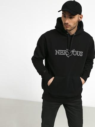 Mikina s kapucňou Nervous Classic HD (black)