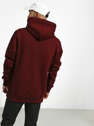 Mikina s kapucňou Nervous Classic HD (maroon)