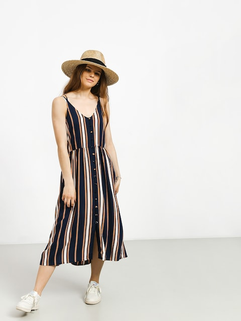 Šaty  Roxy Sunset Beauty Wmn (dress blue macy stripe)