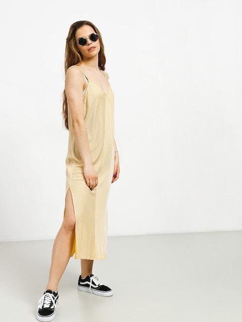 Šaty  RVCA Layla Wmn (mustard)