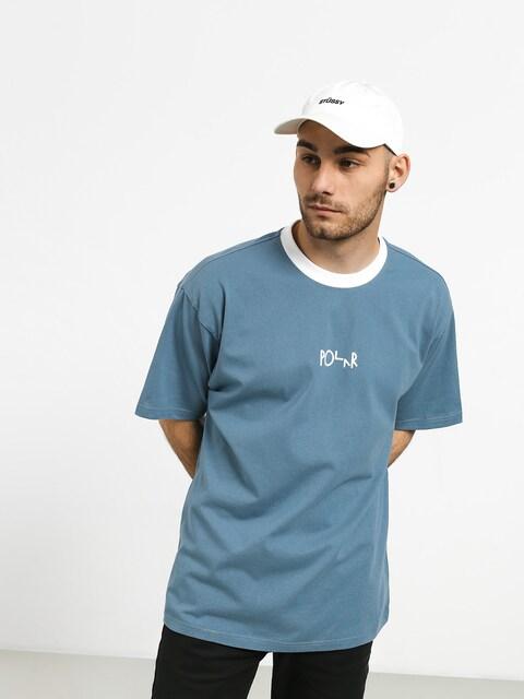 Tričko Polar Skate Offside (grey blue/white)