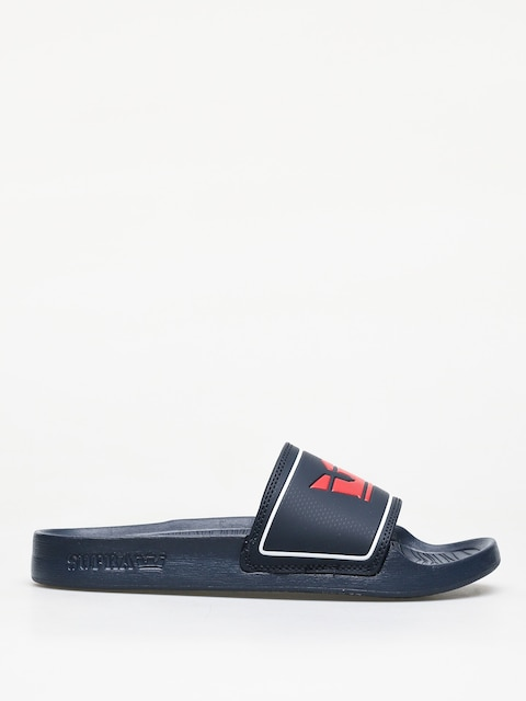 Šľapky Supra Lockup (navy/red)