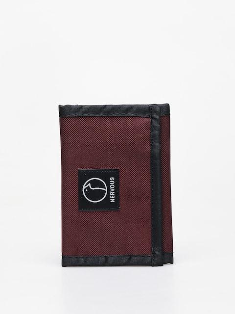 Peňaženka Nervous Profile (maroon)