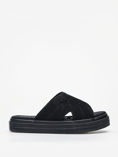 Šľapky Converse One Star Sandal Slip Wmn (black/black/black)