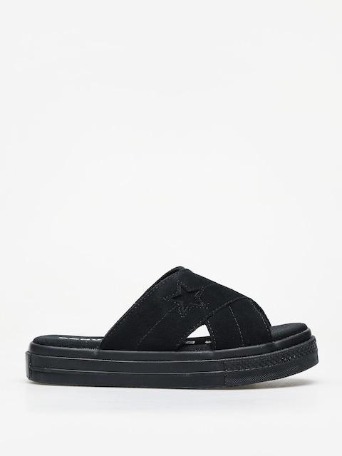 Šľapky Converse One Star Sandal Slip Wmn (black)