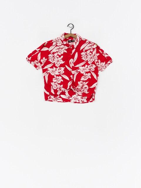 Košeľa Volcom Aloha Ha Wmn (red)