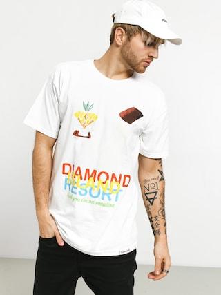 Tričko Diamond Supply Co. Diamond Resort (white)