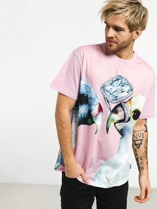 Tričko Diamond Supply Co. Diamond Perroquet (pink)