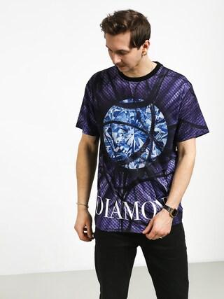 Tričko Diamond Supply Co. Distorted Flower (black)