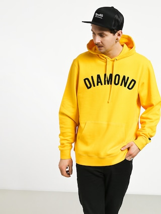 Mikina s kapucňou Diamond Supply Co. Diamond Arch HD (yellow)