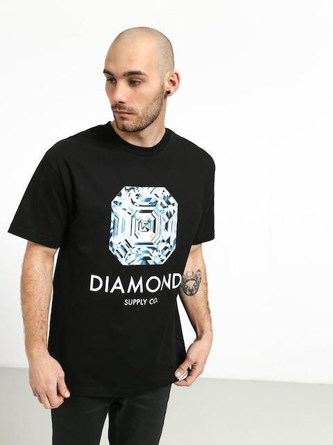 Tričko Diamond Supply Co. Asscher Cut (black)