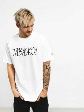 Tričko Tabasko Tag (white)