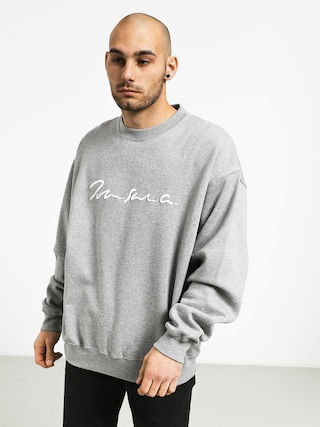Mikina Polar Skate Signature Crewneck (heather grey)