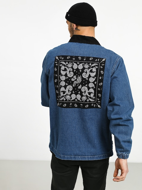 Bunda Turbokolor Denim Paisley (blue)