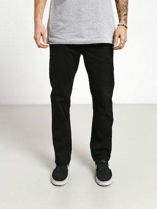 Nohavice Etnies Essential Straight Chino (black)