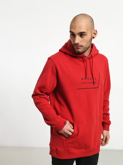 Mikina s kapucňou Rip Curl Daily Fleece HD (red)