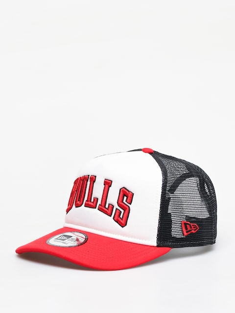 Šiltovka New Era Colour Block Chicago Bulls ZD (optic white/red)