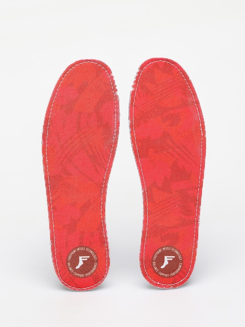 Vložky do topánok Footprint Kingfoam Insoles (red camo flat)
