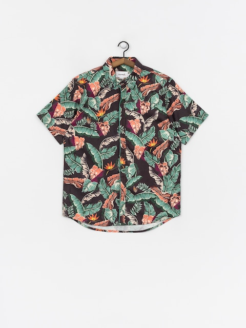 Košeľa Diamond Supply Co. Tropical Paradise (black)