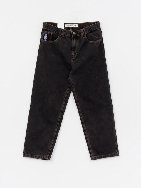 Nohavice Polar Skate 93 Denim (washed black)
