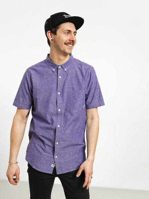 Košeľa Element Greene Neps (gentian violet)