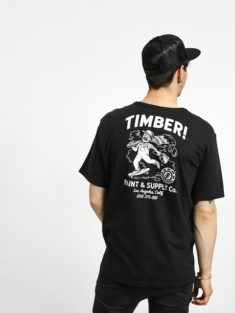 Tričko Element Supply Co (off black)