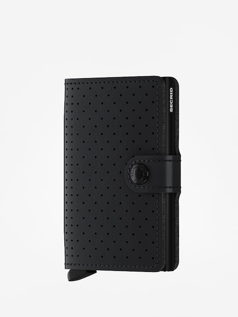 Peňaženka Secrid Miniwallet Perforated (black)