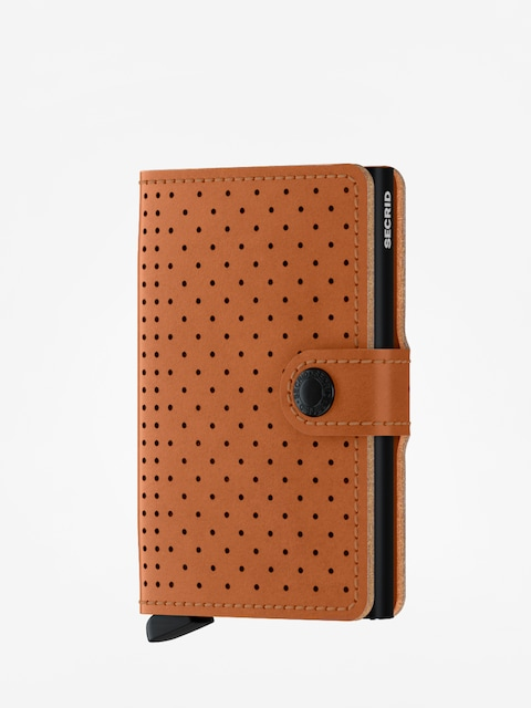 Peňaženka Secrid Miniwallet Perforated (cognac)