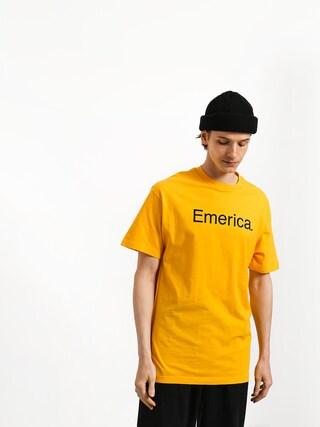 Tričko Emerica Pure Logo (gold)