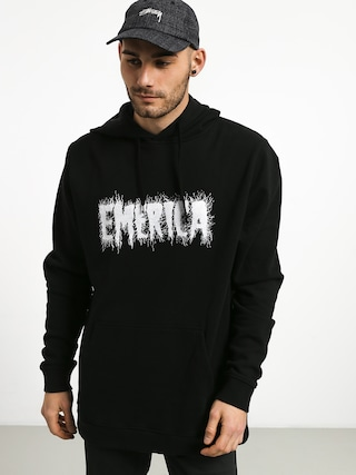 Mikina s kapucňou Emerica Scan HD (black)