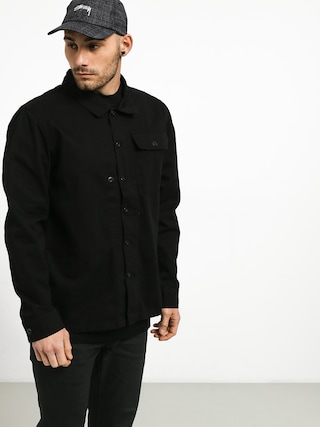 Kou0161eu013ea Emerica Squadron Over Shirt (black)