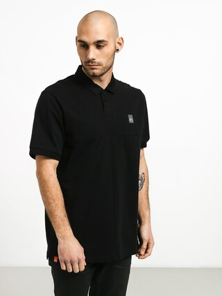 Tričko Polo Es Split (black)