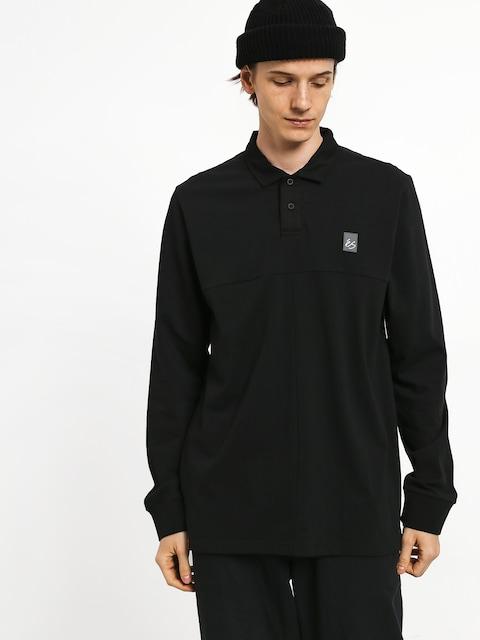 Triko Polo Es Split (black)
