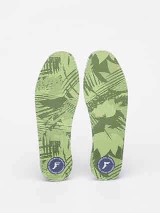 Vložky do topánok Footprint Flat Kingfoam Insoles (green camo)