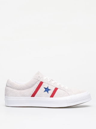 Topu00e1nky Converse One Star Academy Ox (white/enamel red/blue)
