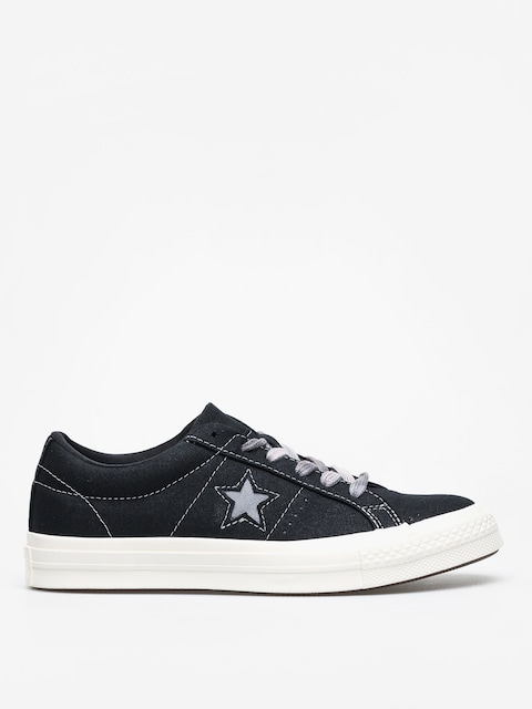 Topánky Converse One Star Ox Wmn (black/cool grey/egret)