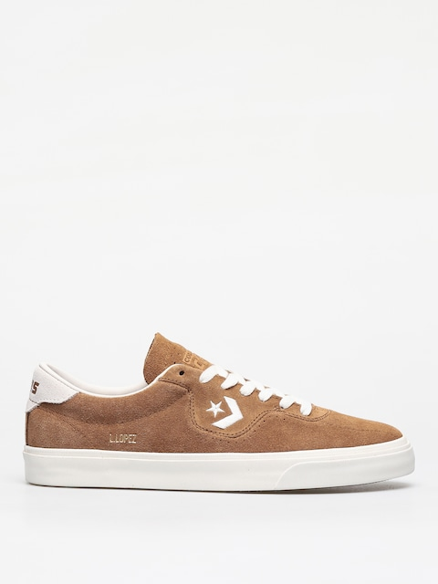 Topánky Converse Louie Lopez Ox (dark brown/beige)