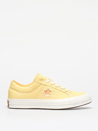 Topu00e1nky Converse One Star Ox (butter yellow/melon baller)