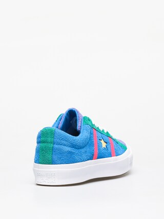 Topánky Converse One Star Academy Ox (totally blue/racer pink/white)