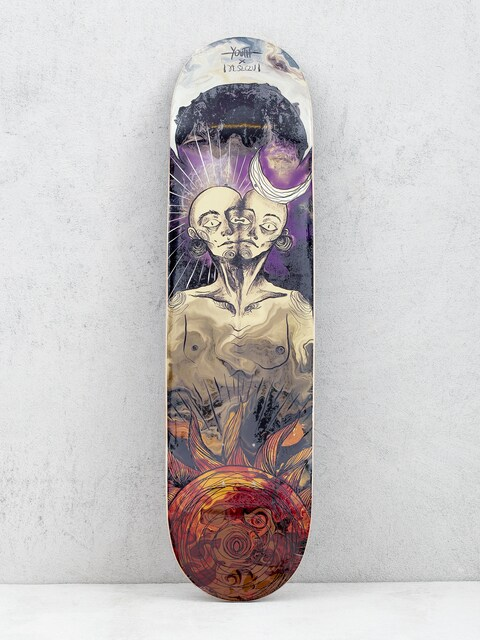 Doska Youth Skateboards Twins (purple/red)