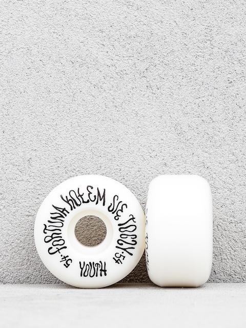 Kolieska Youth Skateboards Fortuna (black/white)