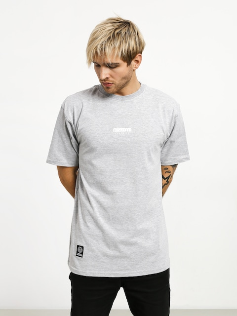 Tričko MassDnm Classics Small Logo (light heather grey)