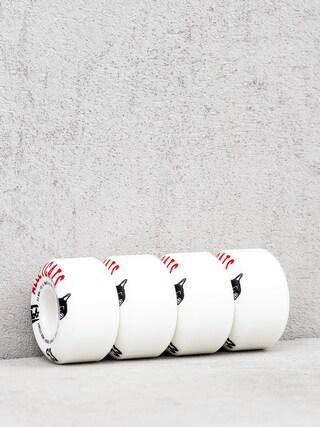 Kolieska Mob Skateboards Alleycats (white/black/red)