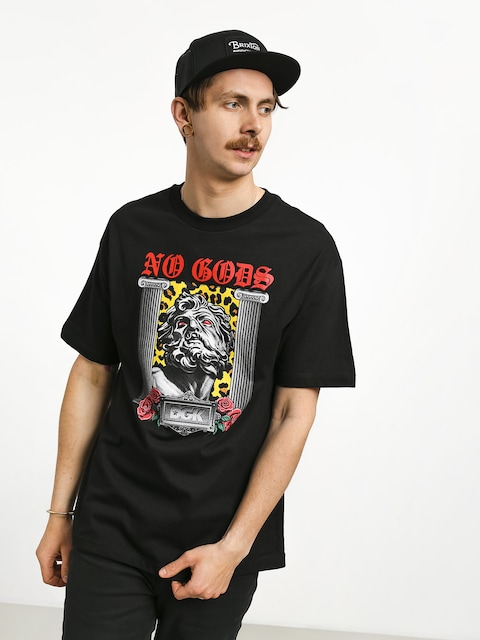 Tričko DGK No Gods (black)