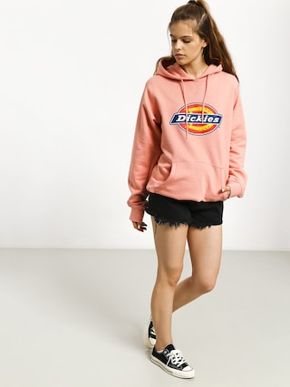 Mikina s kapucňou Dickies Nevada HD Wmn (flamingo)