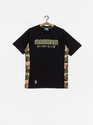Tričko MassDnm Shelter (black)