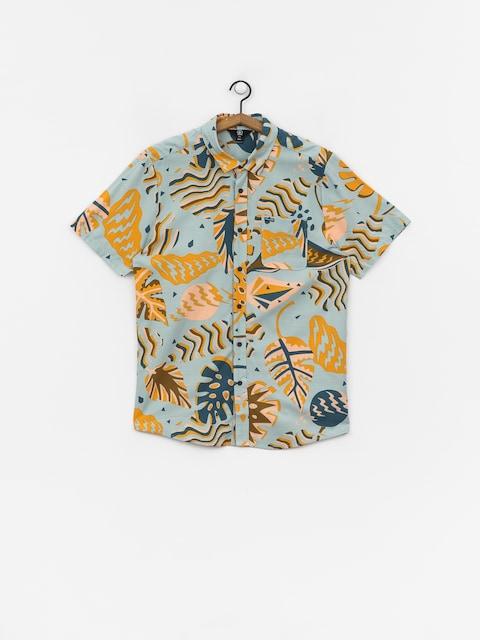 Košeľa Volcom Scrap Floral (sea)