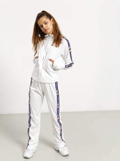 Nohavice Champion Premium Straight Hem Pants Wmn (wht)